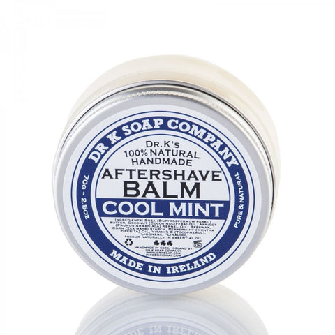 Dr. K's 100% Natural Handmade Aftershave Balm (Cool Mint) 70gr - FineShave
