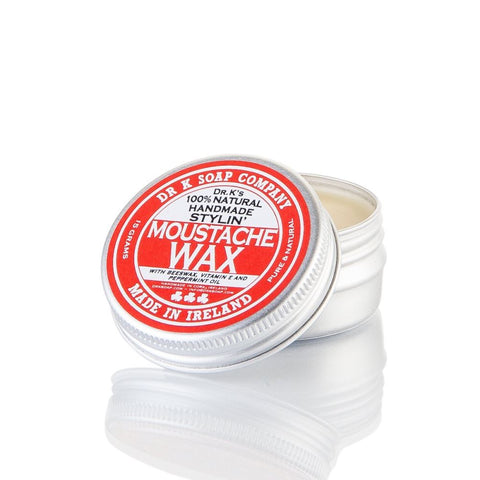 Dr. K's 100% Natural Handmade Stylin' Moustache Wax 15gr - FineShave