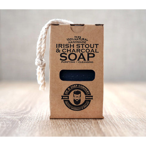 Dr. K's Soap Company Irish Stout & Charcoal Soap 110g - FineShave