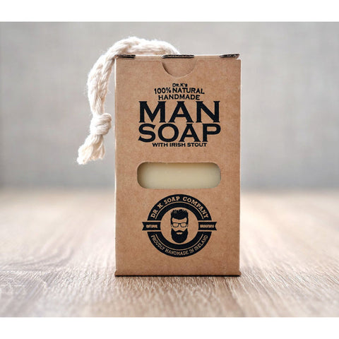 Dr. K's Soap Company Man Soap 110g - FineShave