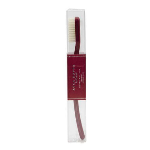 Acca Kappa Vintage Red Medium Pure Bristle Toothbrush - FineShave