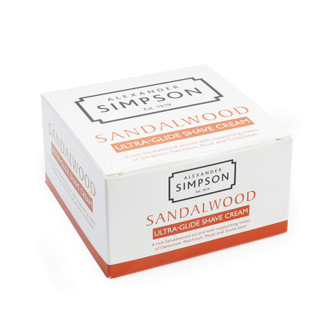 Alexander Simpson Est. 1919 Sandalwood Ultra-Glide Shave Cream 180ml