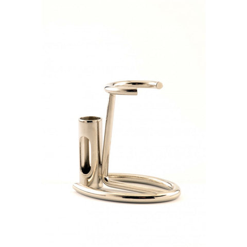 Eco Razor & Brush Stand (chrome) - FineShave