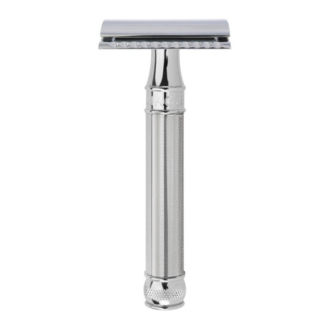 Edwin Jagger DE89 Safety Razor with Barley Handle - FineShave