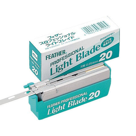 Feather Artist Club Pro Light Blades 20 Pack - FineShave