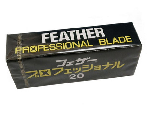 Feather Artist Club Professional Blades 20 Pack - FineShave