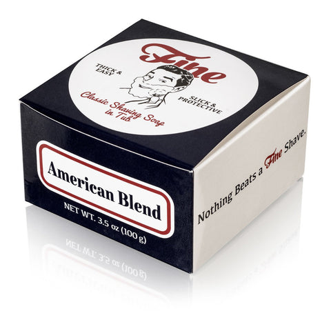 Fine Accoutrements Classic American Blend Shaving Soap in a Tub 100gr - FineShave