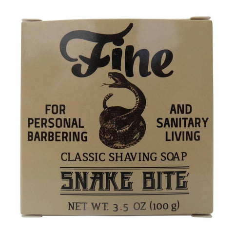 Fine Accoutrements Classic Snake Bite Shaving Soap 100gr - FineShave