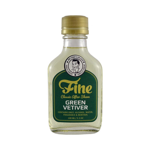 Fine Classic After Shave - Green Vetiver - FineShave