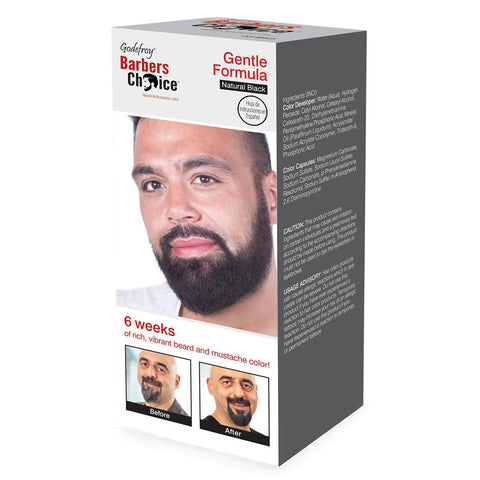 Godefroy Barbers Choice (Natural Black) Beard & Moustache Colour