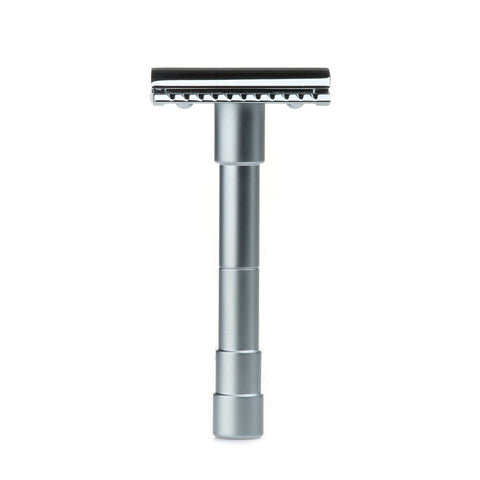 Merkur 46C Travel Safety Razor with black Leather Pouch