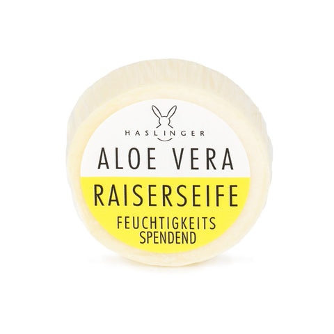 Haslinger Aloe Vera Shaving Soap 60gr (Tin bowl) - FineShave