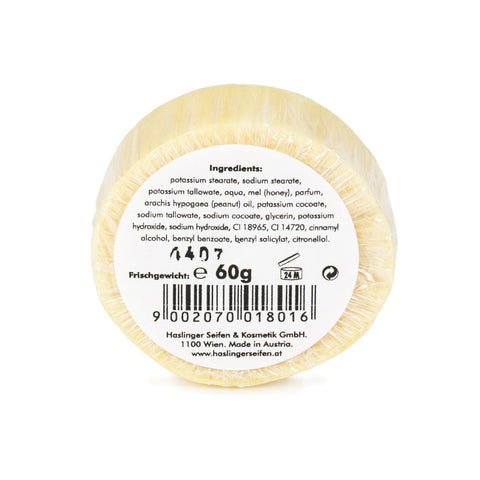 Haslinger Honey Shaving Soap 60gr (refill) - FineShave
