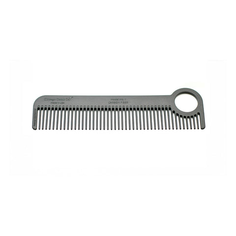 Chicago Comb Model No. 1 Carbon Fiber Comb