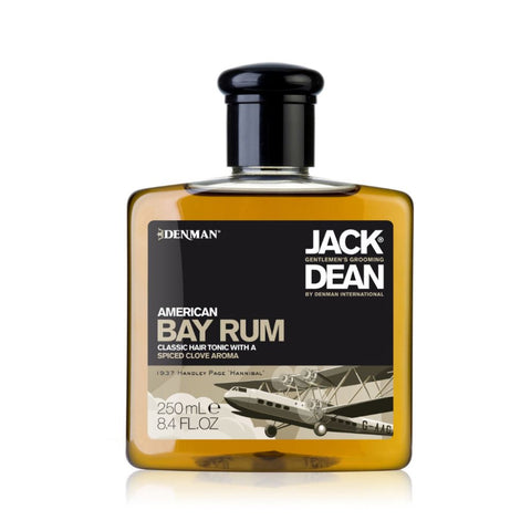Jack Dean American Bay Rum Classic Hair Tonic 250ml - FineShave