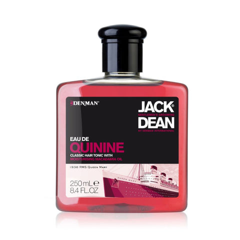 Jack Dean Eau de Quinine Hair Tonic 250ml - FineShave