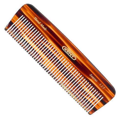 Kent Handmade medium size Pocket Comb A 12T 140mm (Thick Hair, Coarse) - FineShave