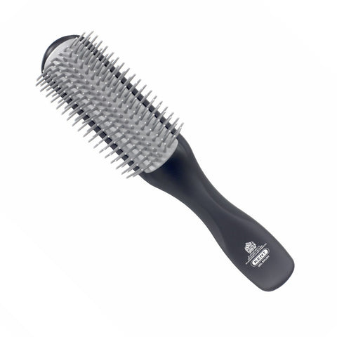 Kent for Men Gel Styler Brush for Thick Long Hair Half Radial KFM2 - FineShave