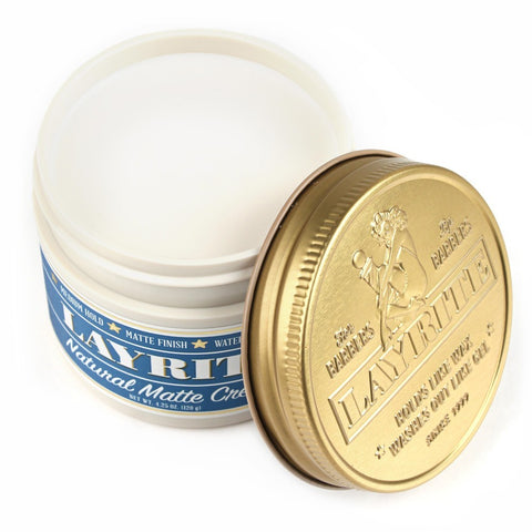 Layrite Natural Matte Cream (New Style) - FineShave