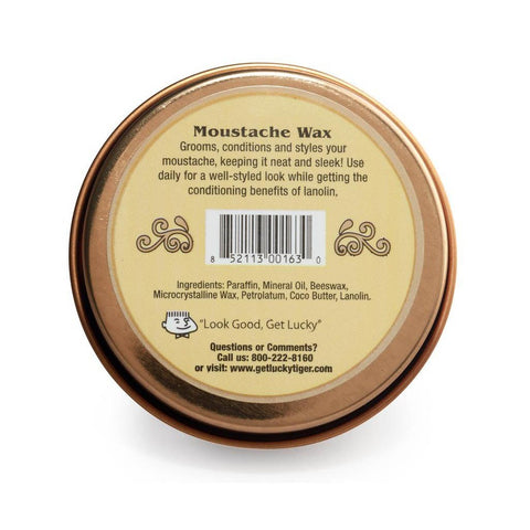 Lucky Tiger Moustache Wax Neutral 40g - FineShave