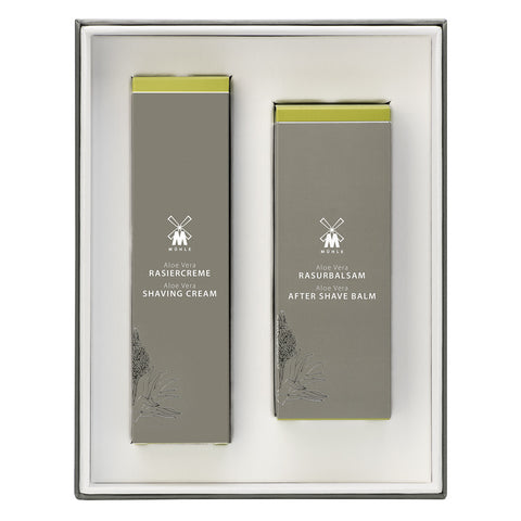 Mühle Shaving Cream and After Shave Balm Gift Set - Aloe Vera