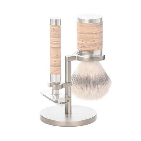 Mühle Stand for ROCCA Safety Razor & Brush