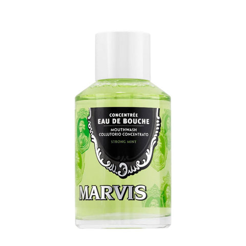 Marvis Mouthwash Strong Mint 120ml - FineShave