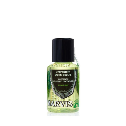 Marvis Mouthwash Strong Mint 30ml (Travel Size) - FineShave
