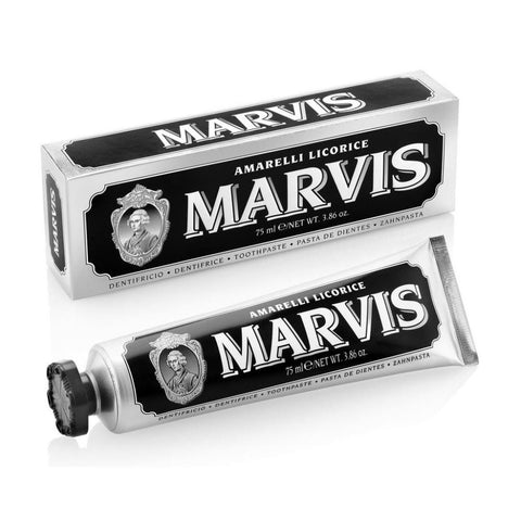 Marvis Toothpaste 75ml Tube - Amarelli Licorice - FineShave