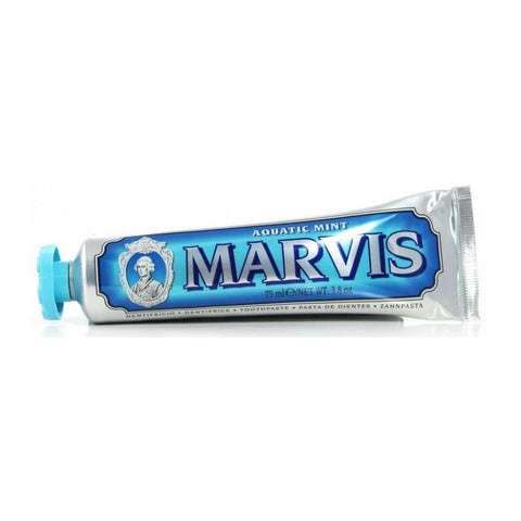 Marvis Toothpaste 75ml Tube - Aquatic Mint - FineShave