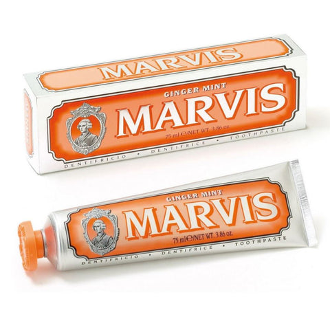 Marvis Toothpaste 75ml Tube - Ginger Mint - FineShave