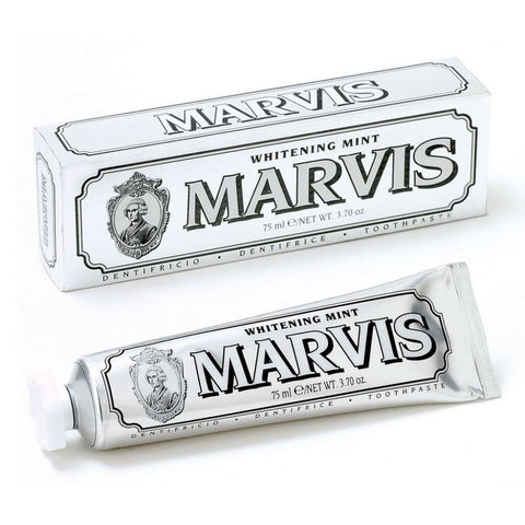 Marvis Toothpaste 75ml Tube - Whitening Mint - FineShave