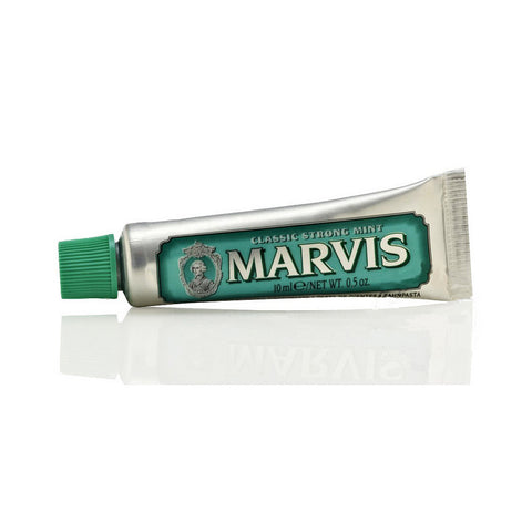 Marvis Toothpaste Sample 10ml  Classic Strong Mint - FineShave