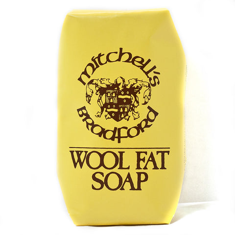 Mitchells Wool Fat Bath Size Soap 150gr - FineShave