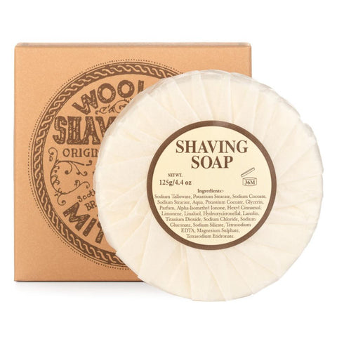 Mitchell's Wool Fat Shaving Soap (Refill) - FineShave