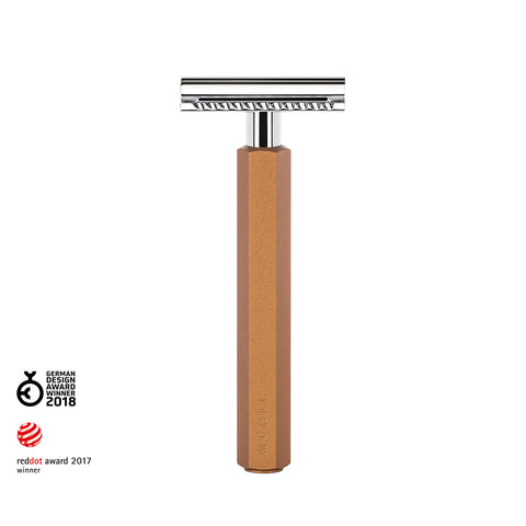 Mühle Bronze Hexagon Safety Razor - FineShave