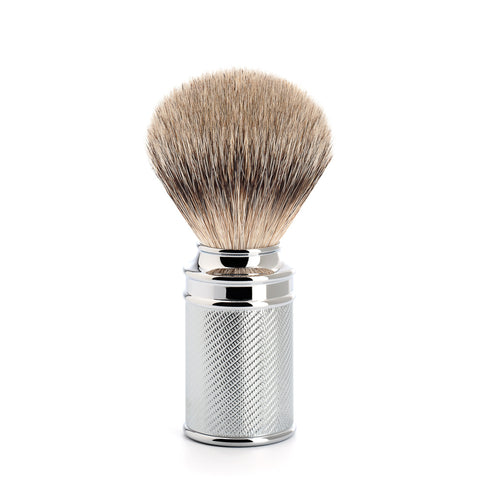 Mühle Chrome Silvertip Badger Shaving Brush 091M89 - FineShave