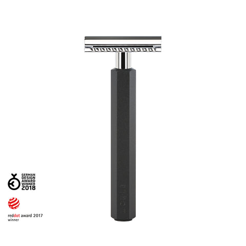 Mühle Graphite Hexagon Safety Razor - FineShave