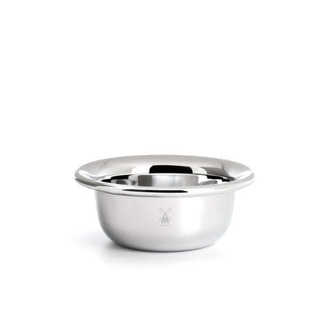 Mühle Polished Stainless Steel Shaving Bowl - FineShave