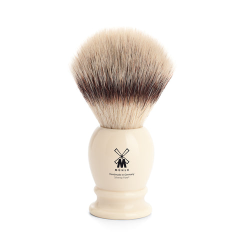 Mühle Silvertip Fibre Shaving Brush (Large Ivory) - FineShave