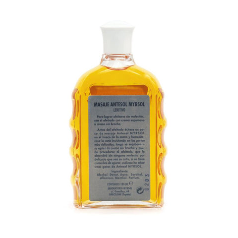 Myrsol Antesol Pre/Post Shave Massage 180ml - FineShave