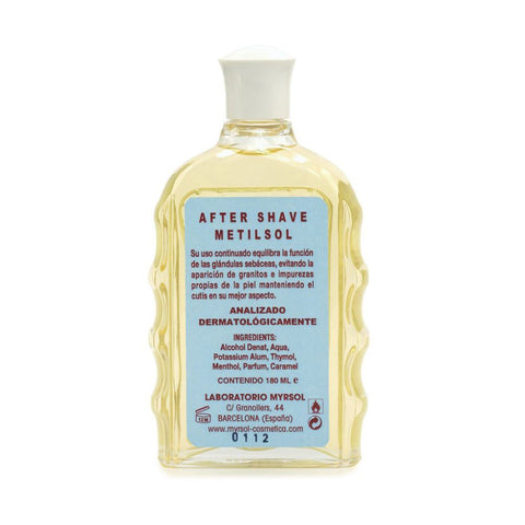 Myrsol ´Metilsol´ Astringent After Shave 180ml - FineShave