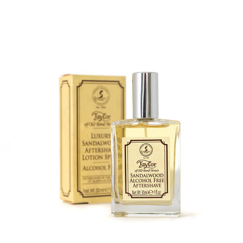 Taylor Of Old Bond Street Sandalwood Alcohol-Free Aftershave Lotion 30ml - FineShave
