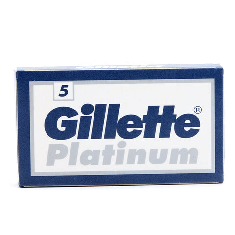 Pack of 5x Gillette Platinum Razor Blades - FineShave