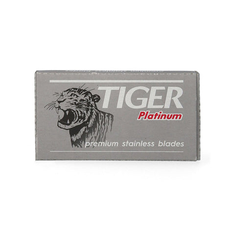 Pack of 5x Tiger Platinum Stainless Razor Blades
