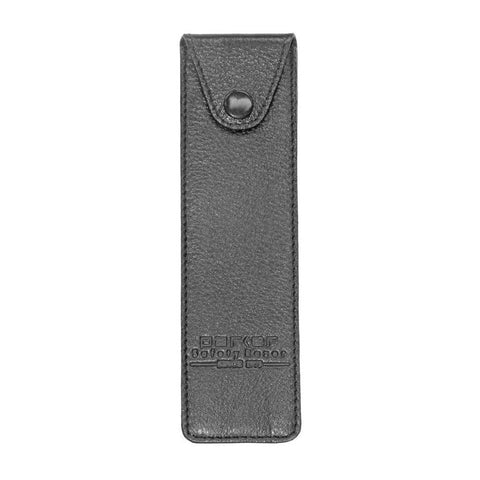 Parker Leather Pouch For Straight Razor (black) - FineShave