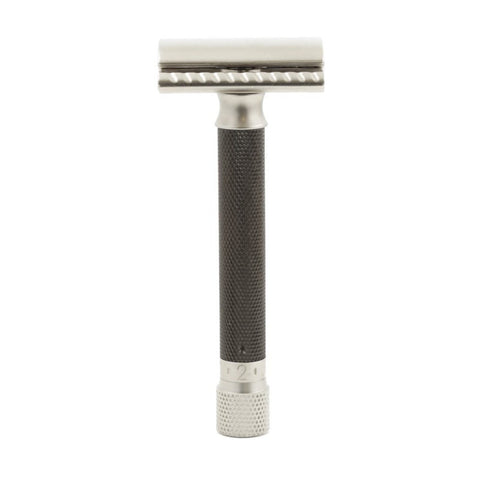 Parker Variant Adjustable Safety Razor - Graphite - FineShave