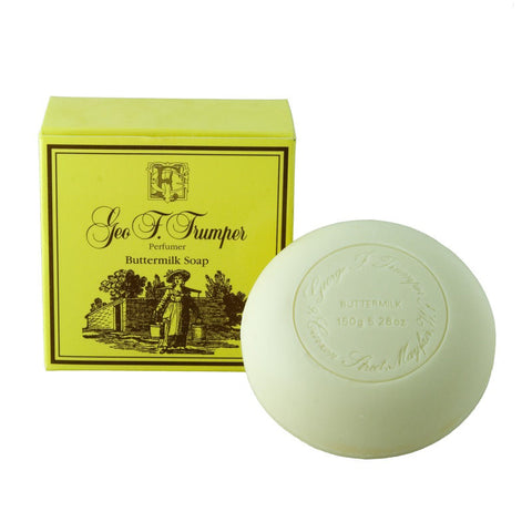 Geo. F. Trumper Buttermilk Bath Soap 150g - FineShave