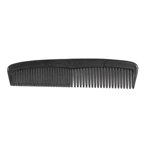 Pocket Comb - coarse/fine 13cm (Black) - FineShave
