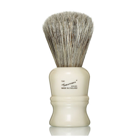 Progress 404 Grosvenor Bristle & Badger Mix Shaving Brush Ivory - FineShave